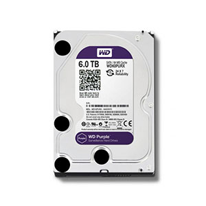Hikvision WD Purple-Surveillance HDD 6TB WD60PURX-78