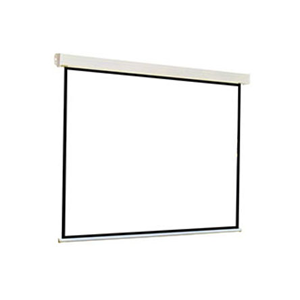 Projector Screen Apollo Electric Motorized Wall Mounted Plus Remote 2.4m