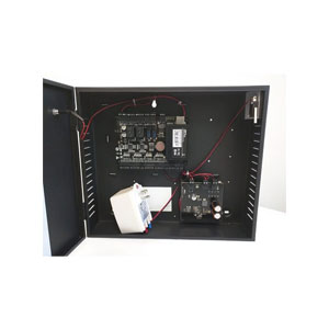 C3-200 Package B ZK 2-Door, One-way controller, A Package of C3-200 including Metal box and PSU