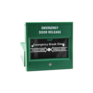 EB-900A ZKTeco Emergency Door Release, Green