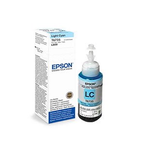 Ink EPSON T6735 Light Cyan Printer (C13T673500)