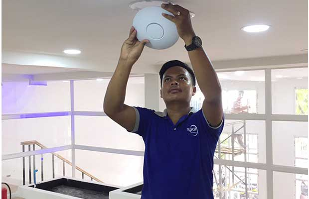 WiFi Network Setup - Video Surveillance & Telephone Systems - Phnom Penh